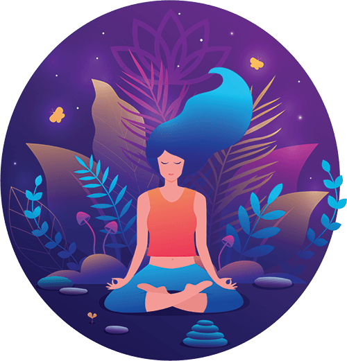 Yoga Parvatasana Pose